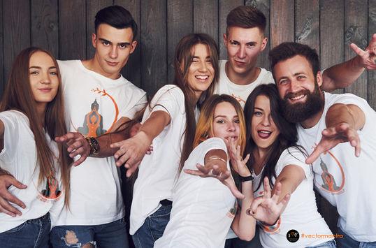 Group T-shirts   Vector Mantra   India