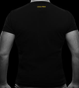 Tiny Logo Print Below the  T-shirt Rib