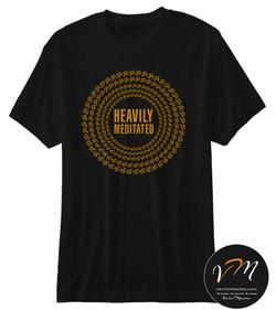 Heavily Meditated cotton  t-shirt