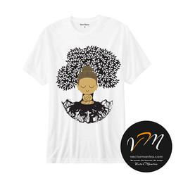 Buddha t-shirt online  Vector mantra