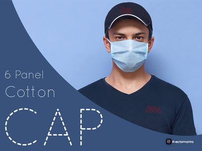 Premium 6 panel caps