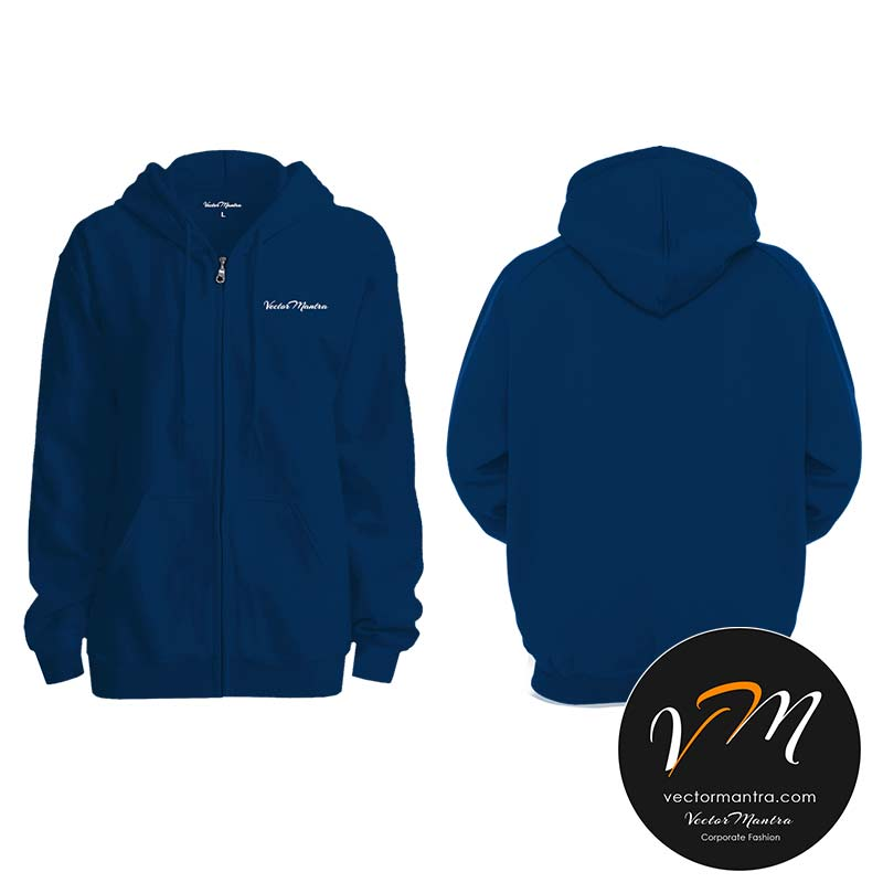 Customized Navy blue sweatshirt