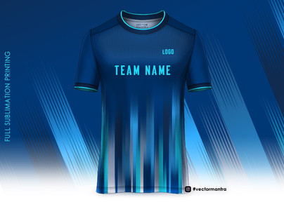 sports jersey | Full Sublimation Printing | Sportswear | Custom sports Jersey | Vector Mantra | India