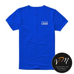 Henley t-shirt printing online