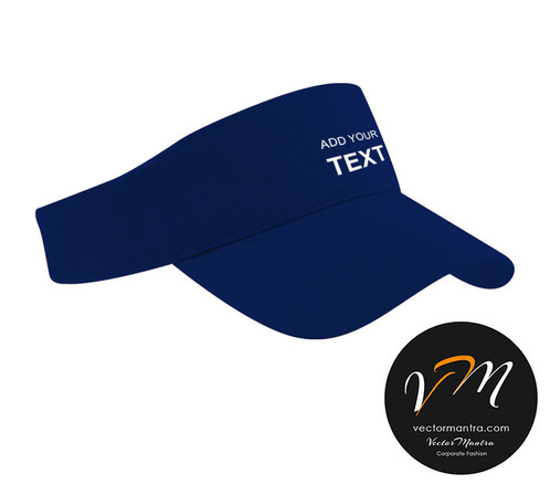 custom visor caps design personalized caps with embroidery india