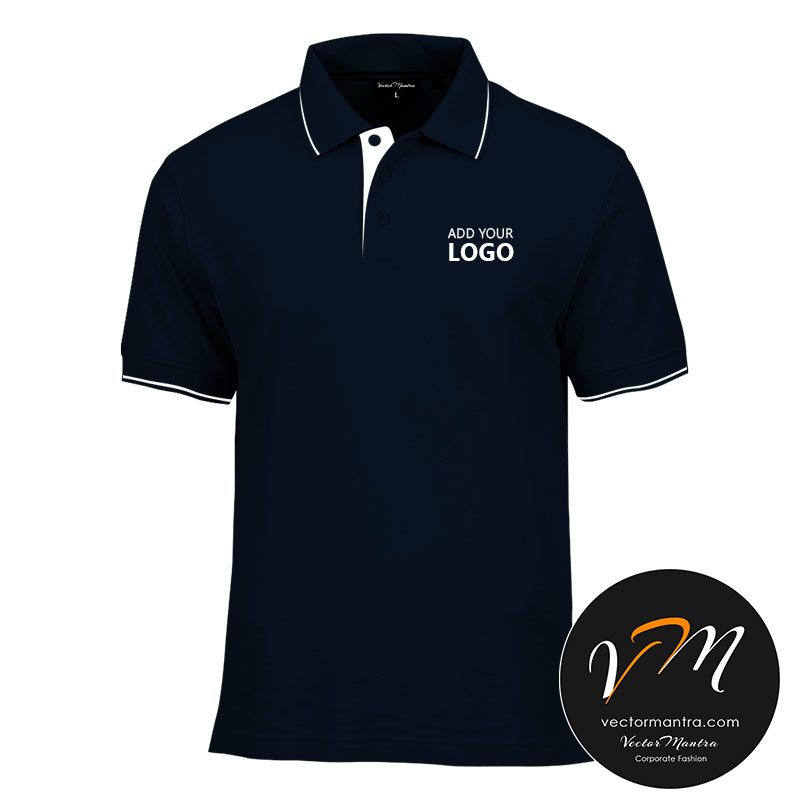Navy Blue Polo T-shirts Bangalore
