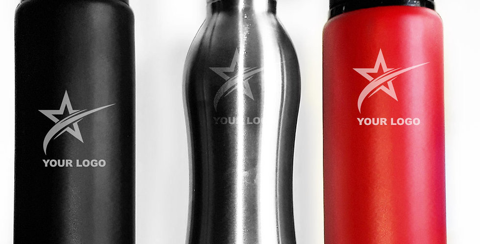 Customized Sippers, Personalized Sippers, Printed Sippers, Sippers with Matte finish, Stainless Steel Sippers, Sports Sippers