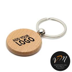 Custom wooden key chain supplier