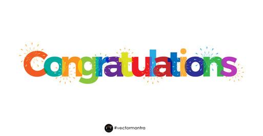 Congratulations Mug Design
