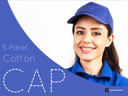 Premium 5 panel caps