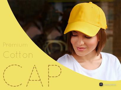 Premium Cotton Baseball Caps  in Bulk