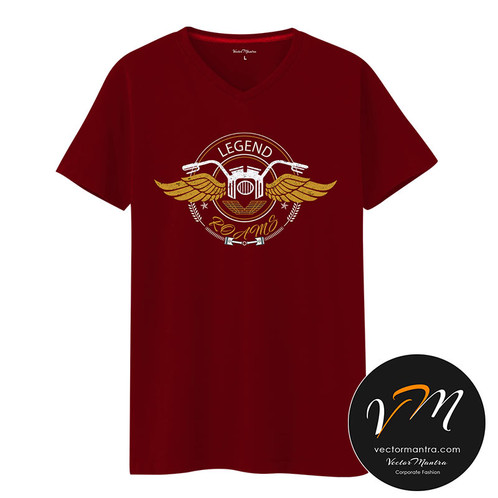 b4074ec39 ... Customized v-neck t shirts, personalized t shirts, college fests, loose  fit ...