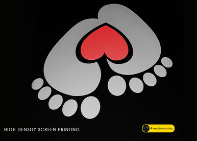 Baby on board T-shirt design with custom screen printing   Vector Mantra   India