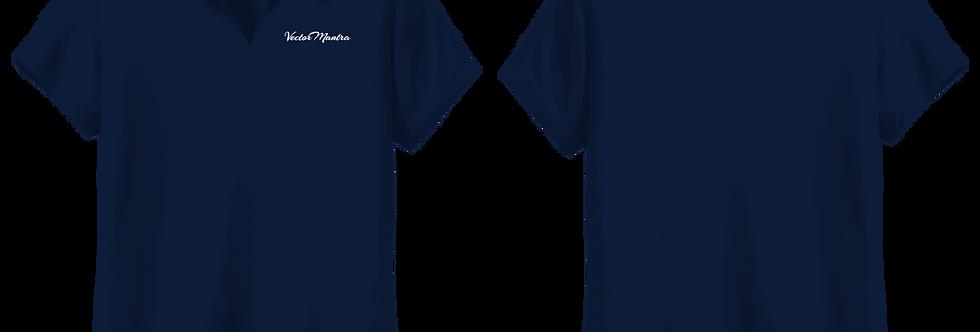 Girls Polo T-shirt, Women's Polo T-shirt, Navy Blue Polo, Design Polo t-shirt, V-neck Polo, Custom Polo T shirt