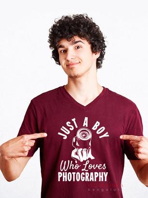 Photographer T-shirt Design