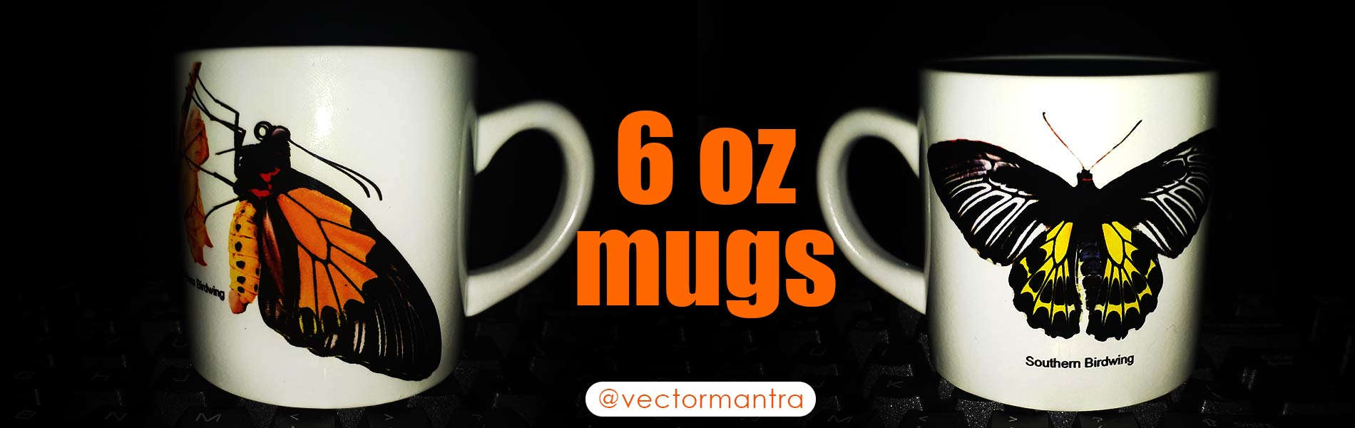 Mug Printing | Promotional Mugs Online | Vector Mantra Mugs | India