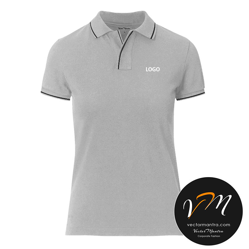women's V-neck polo tees online