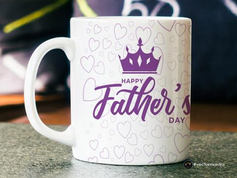 Fathers Day Mug Design
