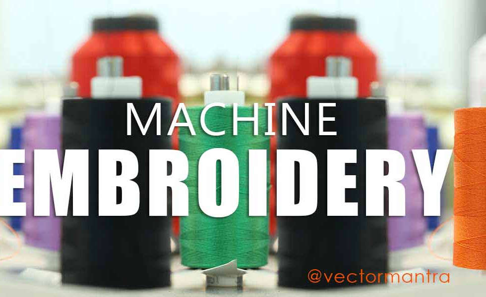 Embroidery | T-shirt Manufacturing | Screen Printing | Vector Mantra | India |
