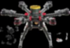 DJI S900 Vidéo 360 drone en agglomération