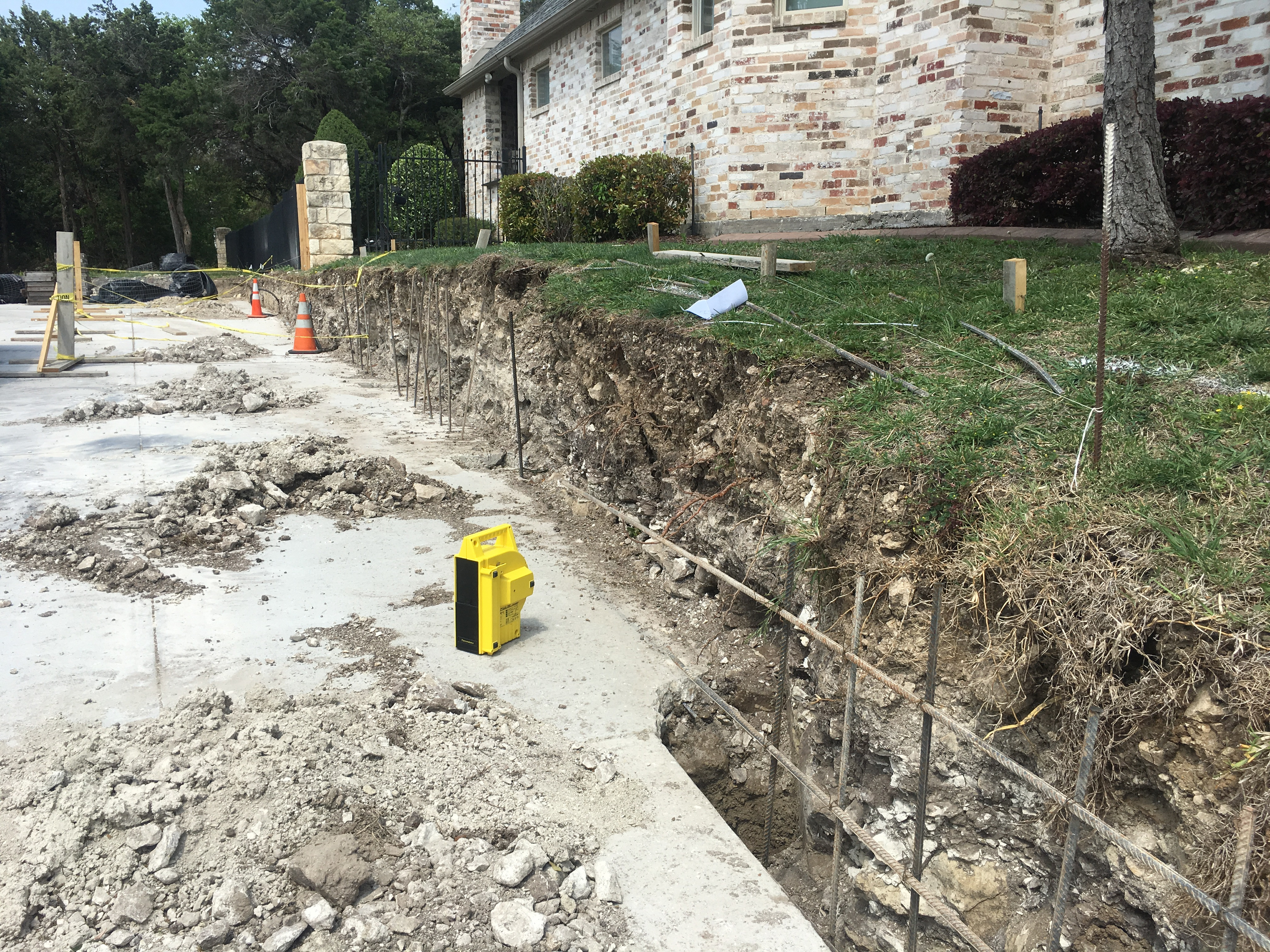 RETAINING WALL SITE INSPECTION & DESIGN