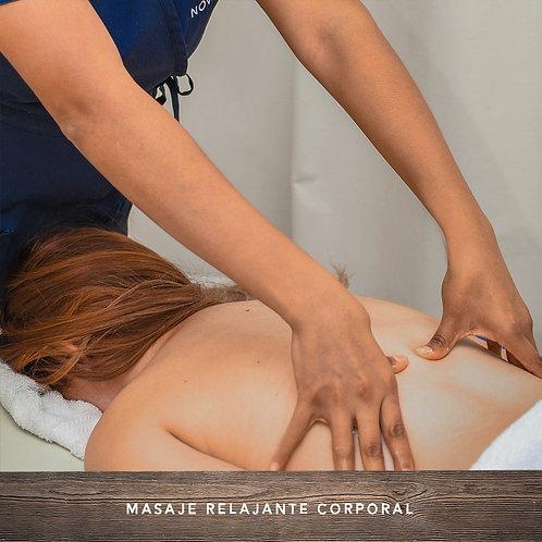 Certificado Masaje Relajante Corporal