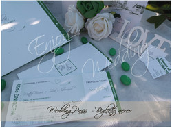 biglietto aereo wedding pass