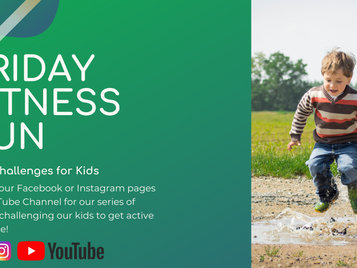 Friday Fitness Fun for Kids