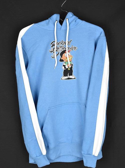 Blue Hoodie Jumpsuit