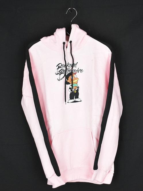 Pink Hoodie Jumpsuit
