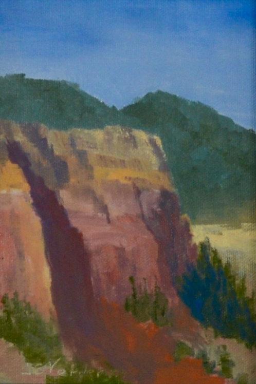 Cliff Shadows 2 (Miniature)