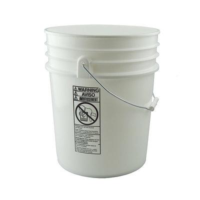 20 Ltr - Plastic Hazmat Pail - UN Y1.2/30