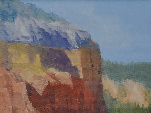 Chama River Cliffs (Miniature)