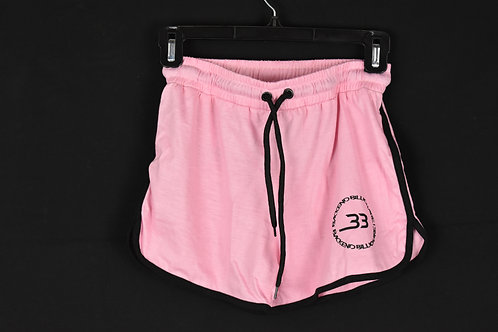 Pink Backend Shorts