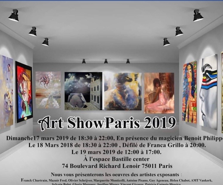 art show Paris