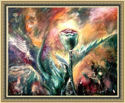 Poppy, 60x50, 2012, oil, canvas