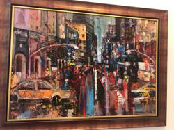 City2, 100x80, oil,canvas