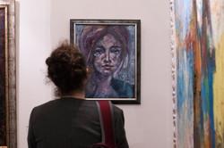 Girl in Vienna, oil,canvas