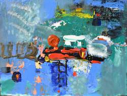 Sea 2 ,2015 , 30x20, oil,canvas