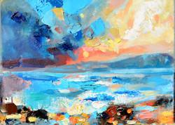 Sea 2015, 30x20, oil, canvas