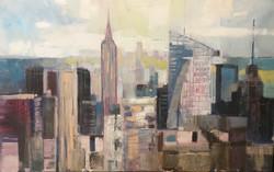 New York ,oil, canvas 2018