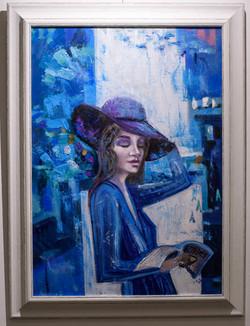 Bisness lady , 70x50,oil,canvas