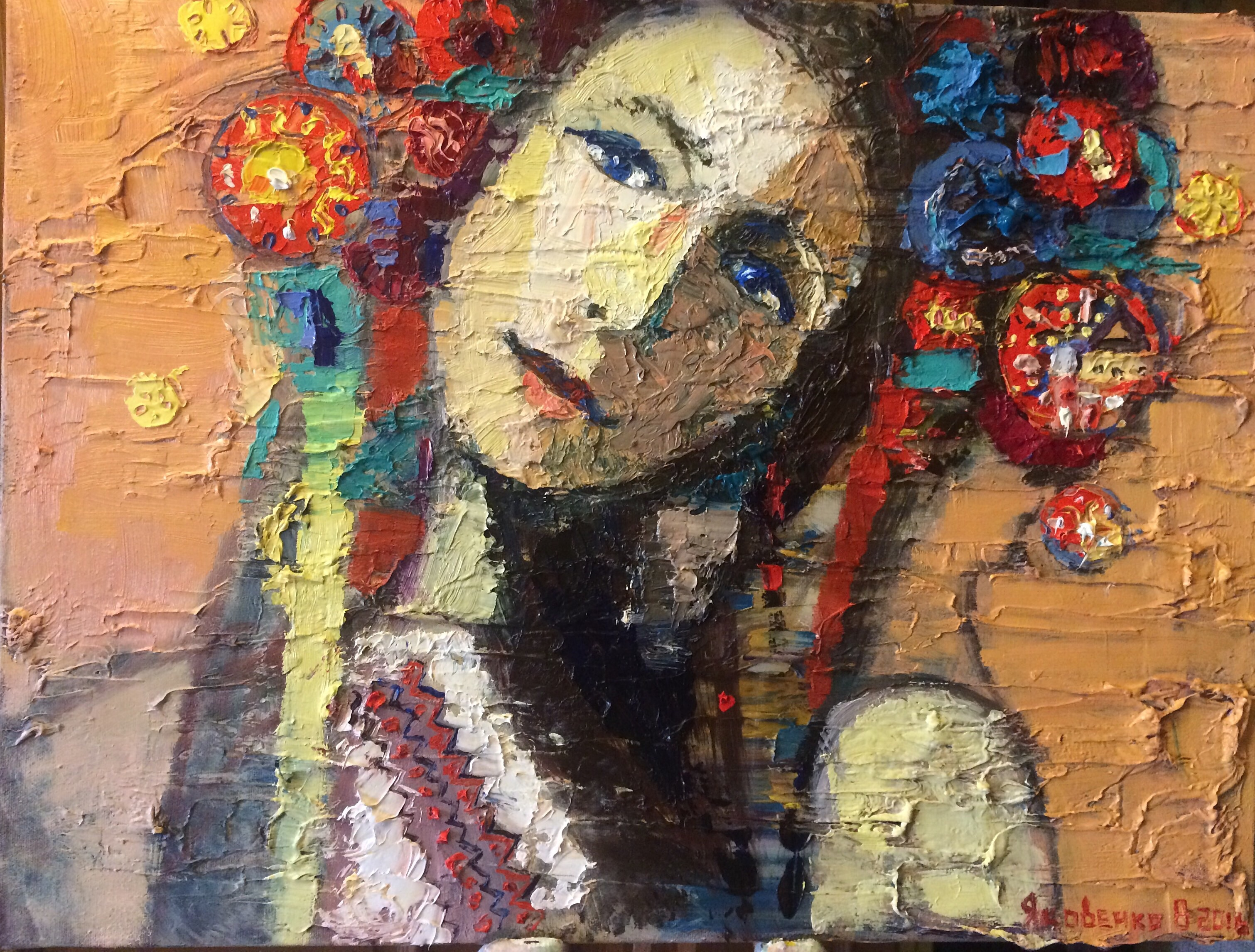 Ukrainian ,2016 , 65x50, oil,canvas