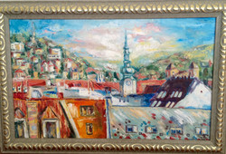Bratislava, 2016, oil, canvas