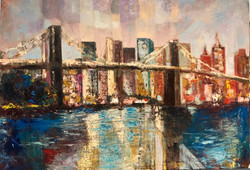 View, 70x100, oil,canvas
