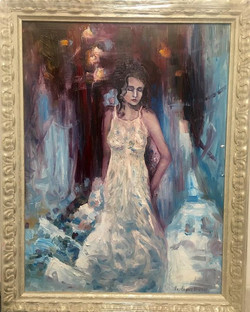 tenderness ,2017 , 50x70, oil , canvas