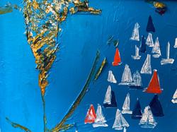 sea 25x20, oil, canvas