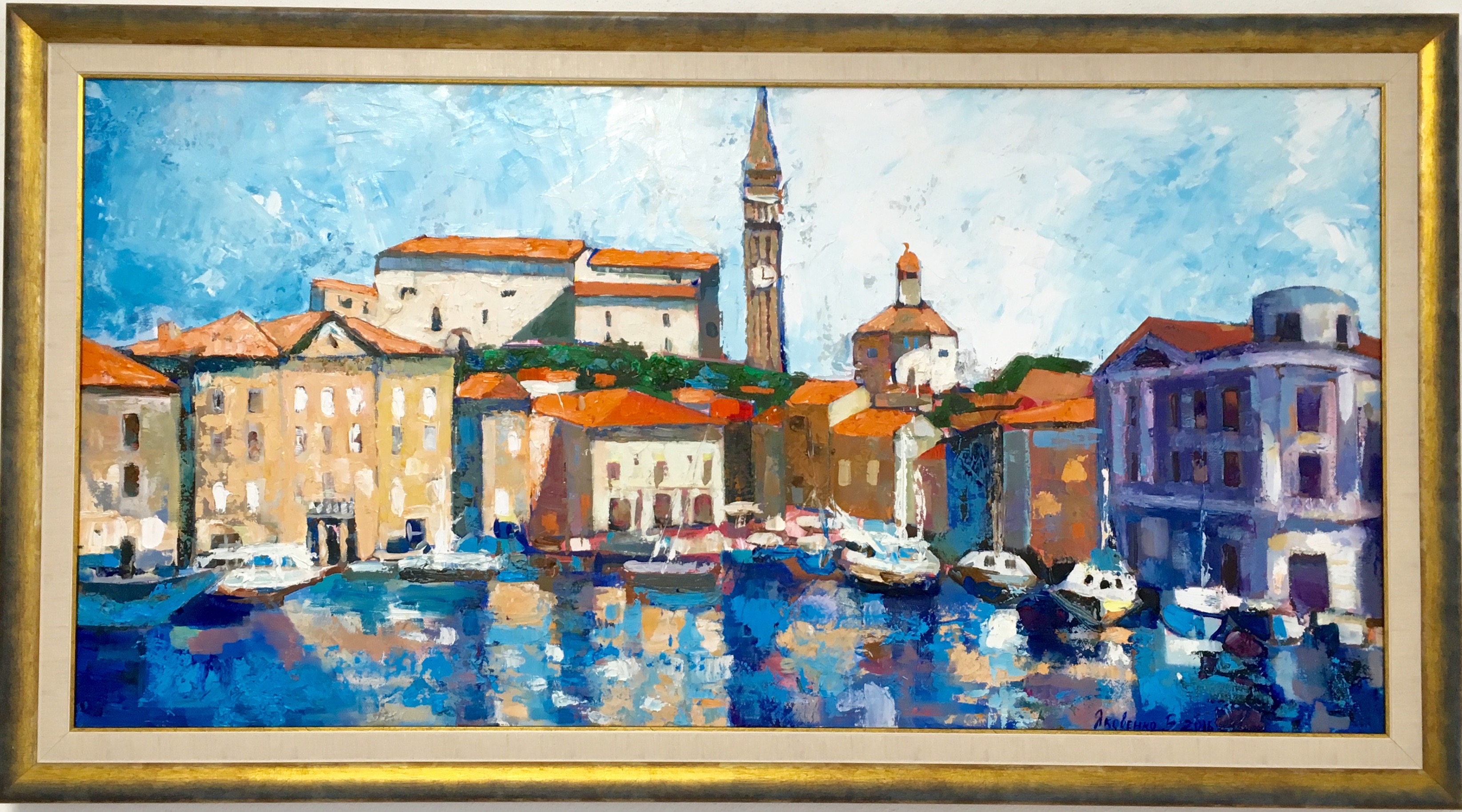 Piran 2016 oil, canvas