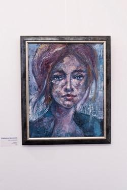 girl in Vienna 2, 60x50, oil, canvas