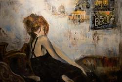 Girl in Berlin, 100x80, oil,canvas